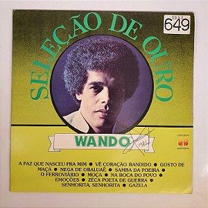 Disco de Vinil - Wando - Seleção de Ouro - 1981