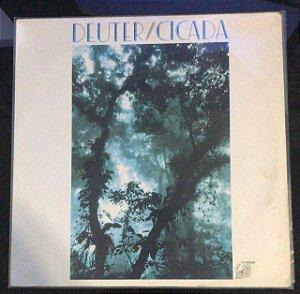 LP - Deuter - Cicada - 1982