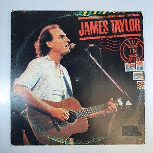 LP - James Taylor - Live in Rio - 1986