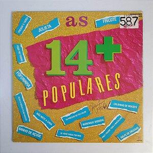LP-  As 14 Mais Populares - Som Livre - 1986
