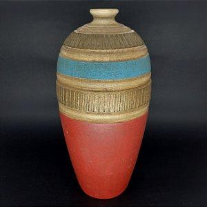 Vaso Angolano em Cerâmica