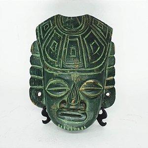 Máscara Decorativa Africana Wooden Entalhada