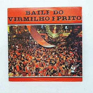 Disco de Vinil - Baile do Vermelho e Preto