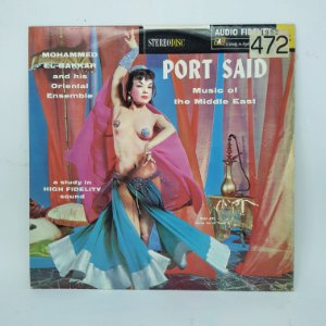 Disco de Vinil - Port Said - Music of the Middle East