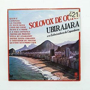 Disco de Vinil - Ubirajara - Solovox de Ouro
