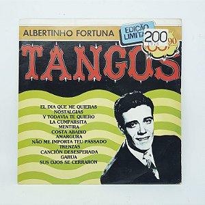Disco de Vinil - Albertinho Fortuna - Tangos