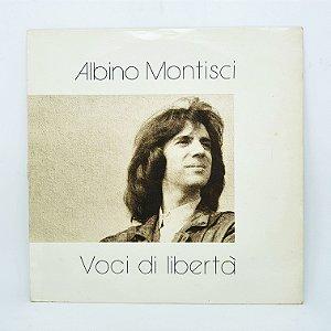 Disco de Vinil - Albino Montisci - Voci di Liberta