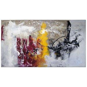 Quadro Pintura a Óleo Abstrato - Krambeck (80Lx180A)