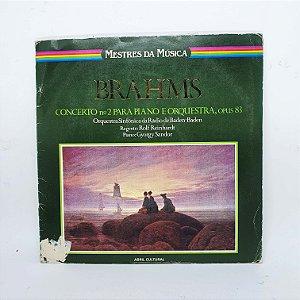 Disco de Vinil - Mestres da Música - BRAHMS