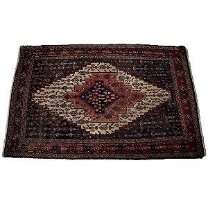 Tapete Persa Tribal Lã Sobre Lã 1,80x1,16m