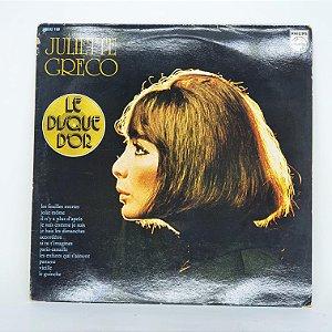 Disco de Vinil - Juliette Greco