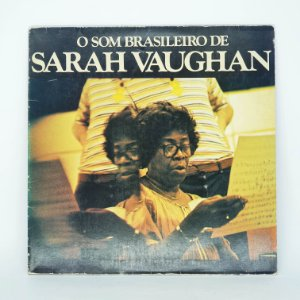 Disco de Vinil - O Som Brasileiro de Sarah Vaughan
