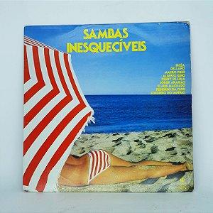 Disco de Vinil - Sambas Inesquecíveis