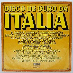 Disco de Vinil - Itália - Disco de Ouro