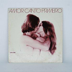 Disco de Vinil - Amor Canto Primeiro