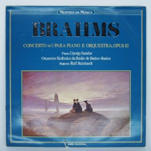 Disco de Vinil - Mestres da Musica - Brahms