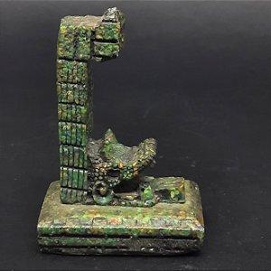 Escultura Inca em Pedra Deuses