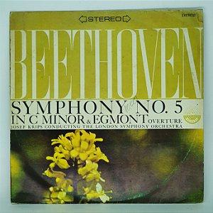 Disco de Vinil -Beethoven - Synphony n 5