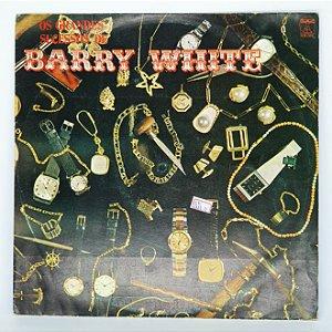 Disco de Vinil - Barry White - Os Grandes Sucessos