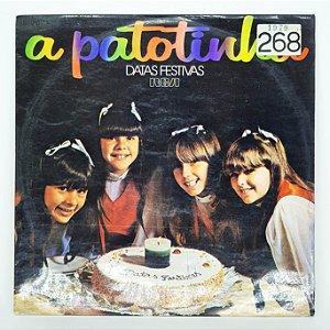 Disco de Vinil - A Patotinha - Datas Festivas