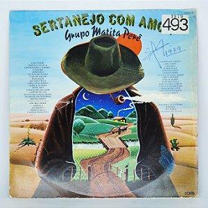 Disco de Vinil - Sertanejo Com Amor - 1979