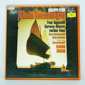Disco de Vinil - Giuseppe Verdi - Simon Boccanegra 1979