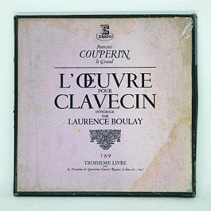 Disco de Vinil - François Couperin - L'oeuvre pour Clavecin