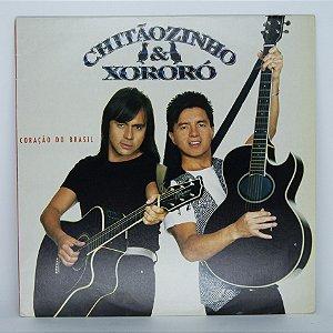 Disco de Vinil - Coração do Brasil - Chitãozinho e Xororó