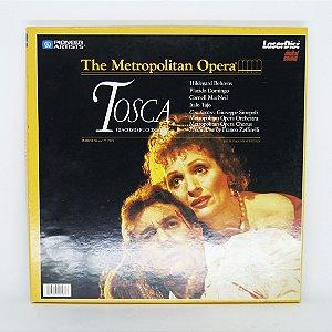 Laser Disc - The Metropolitan Opera - Tosca
