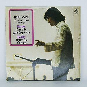 Disco de Vinil - Bartók - Concerto para Orquestra - Ozawa
