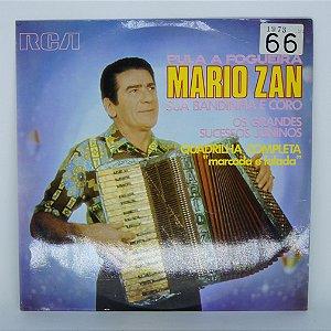 Disco de Vinil - Pula a Fogueira - Mario Zan