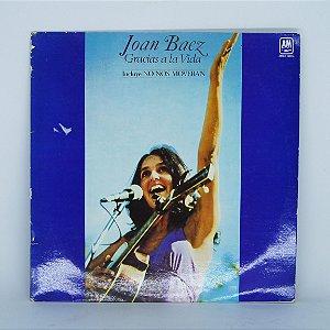 Disco de Vinil - Gracias a La Vida - Joan Baez (Import. ES)