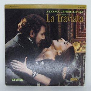Laser VideoDisc - La Traviata - Giuseppe Verdi