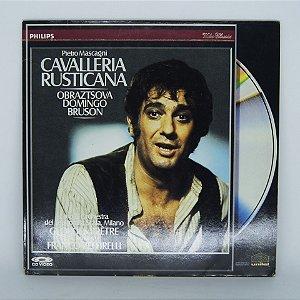 Laser Disc - Cavalleria Rusticana - Obraztsova Domingo