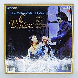 Laser Disc - The Metropolitan Opera / La Bohème - G. Puccini