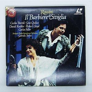 Laser Disc - Il Barbiere di Siviglia / Rossini
