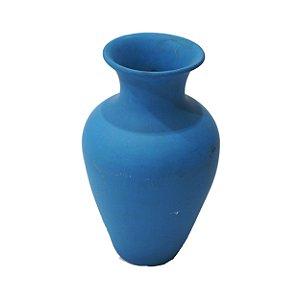 Vaso Azul em Gesso