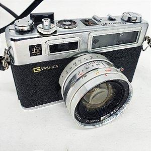 Câmera 'Yashica GS Electro 35' C/Estojo e Alças