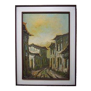 Quadro c/ Pintura 'Vila' Vargas