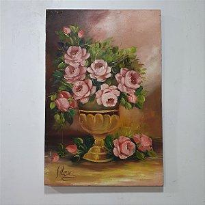 Quadro Rosas Artista Alex