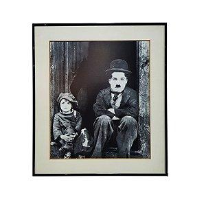 Quadro Imagem Charlie Chaplin (Autor Desconhecido)