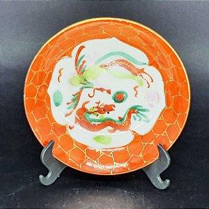 Pires em Porcelana Decoração Chinesa Feito a Mão