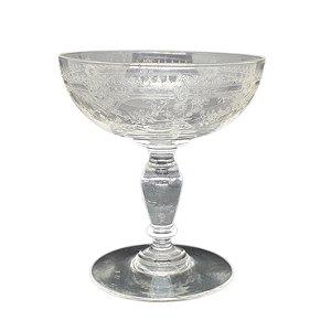 Taça em Cristal Lapidado P/ Martini
