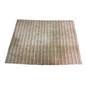 Tapete Industrial Listrado Bege 'CASANOVA Tapetes e Carpetes