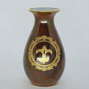 Vaso Solitário em Porcelana DP Handcrafted 20-24 Karat Gold