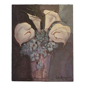 Quadro 'Copos de Leite' Sidney Mariano 97