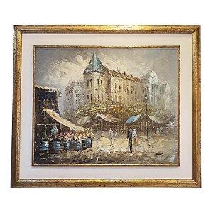 Quadro Paisagem Francesa Autor Desconhecido
