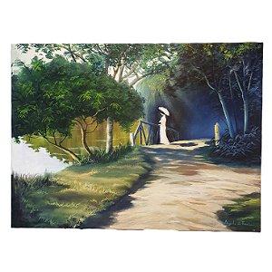 Quadro 'Vista da Paisagem' Artista Angelo Di Fiori