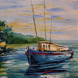 Quadro 'Marinha' Artista Sônia Caetano