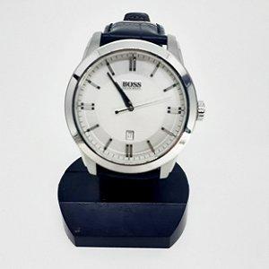 Relógio de Pulso Boss Pulseira de Couro